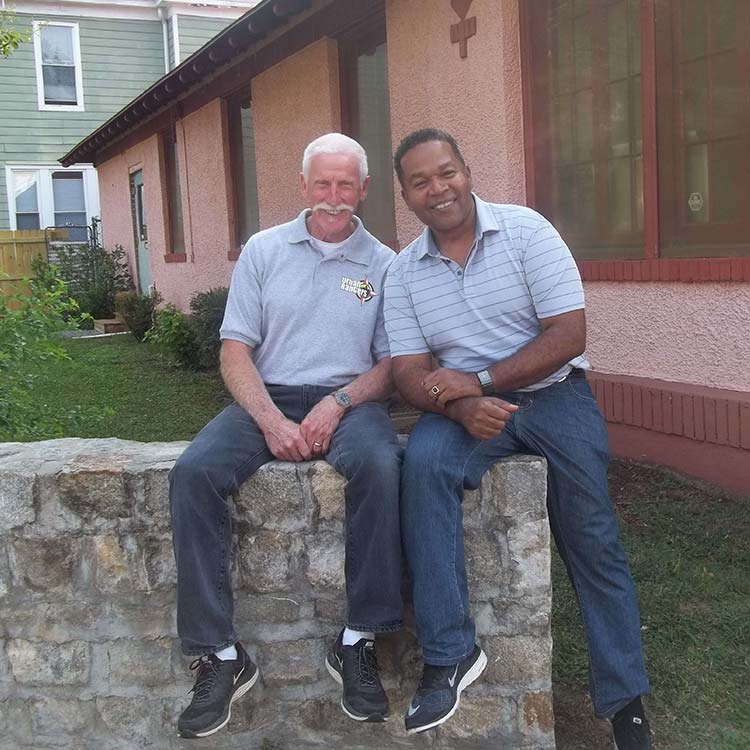 Butch and Paul at HP Community Church